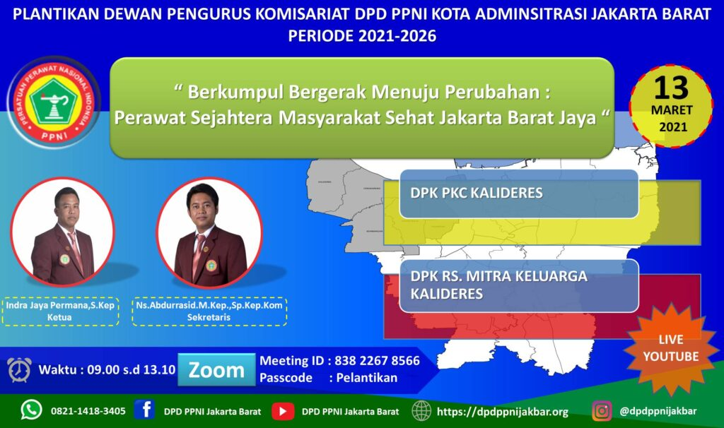 Pelantikan Dewan Pengurus Komisariat PPNI Kota ...