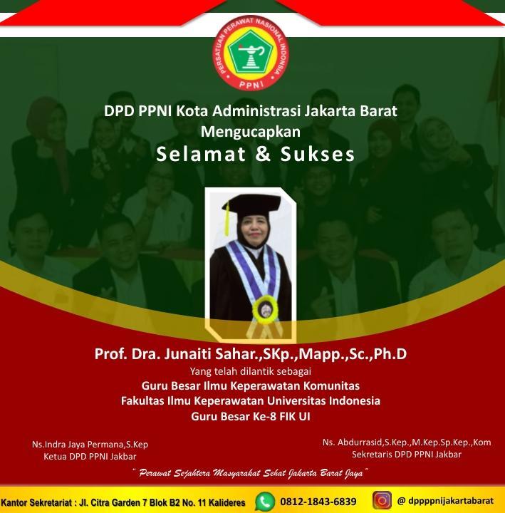 Prof Juniati Sahar